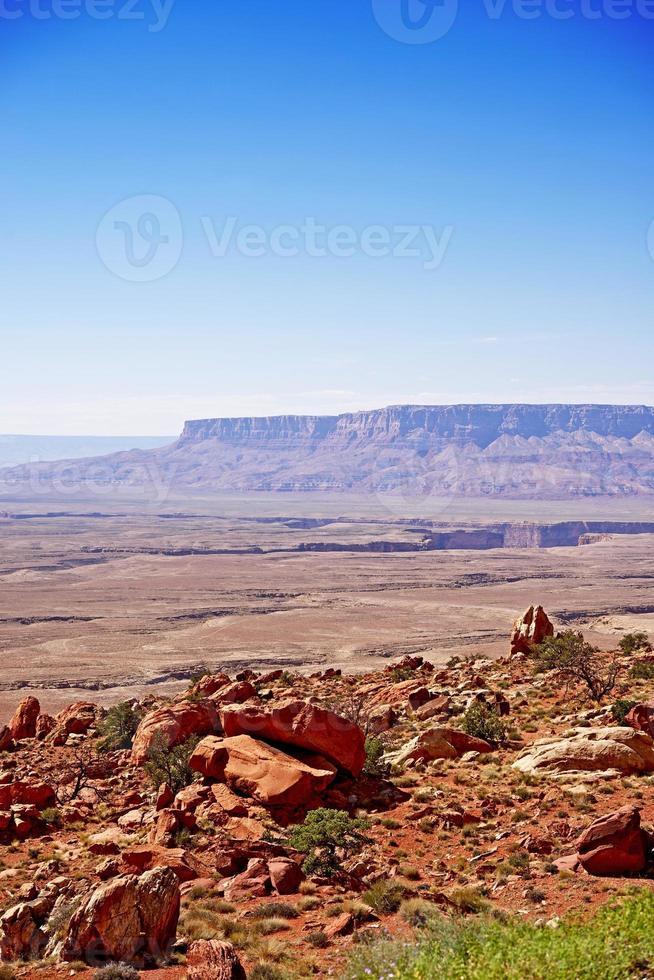 paisagem crua do arizona foto