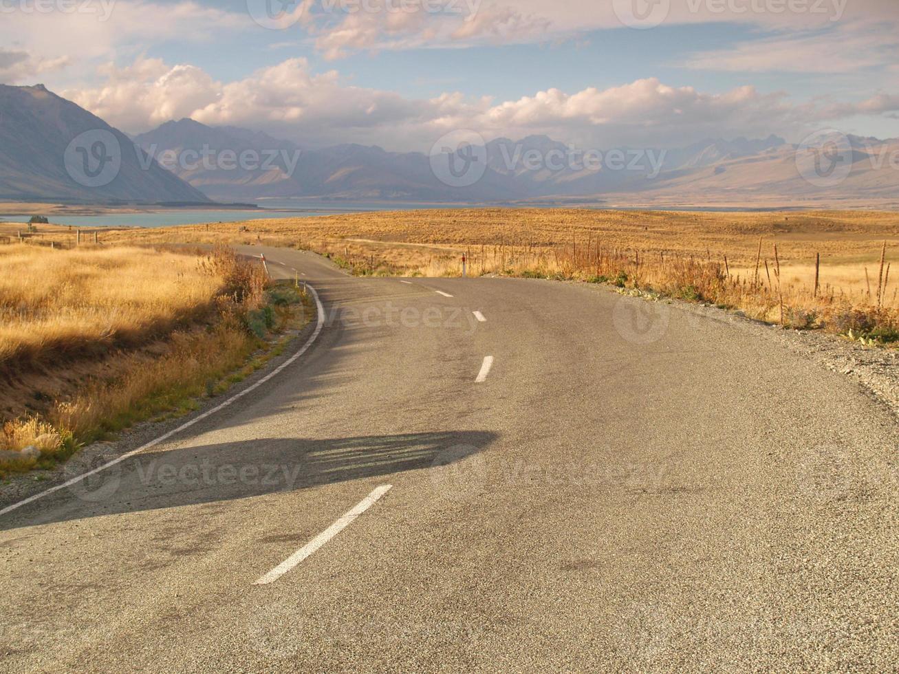 paisagem na nova zelândia foto