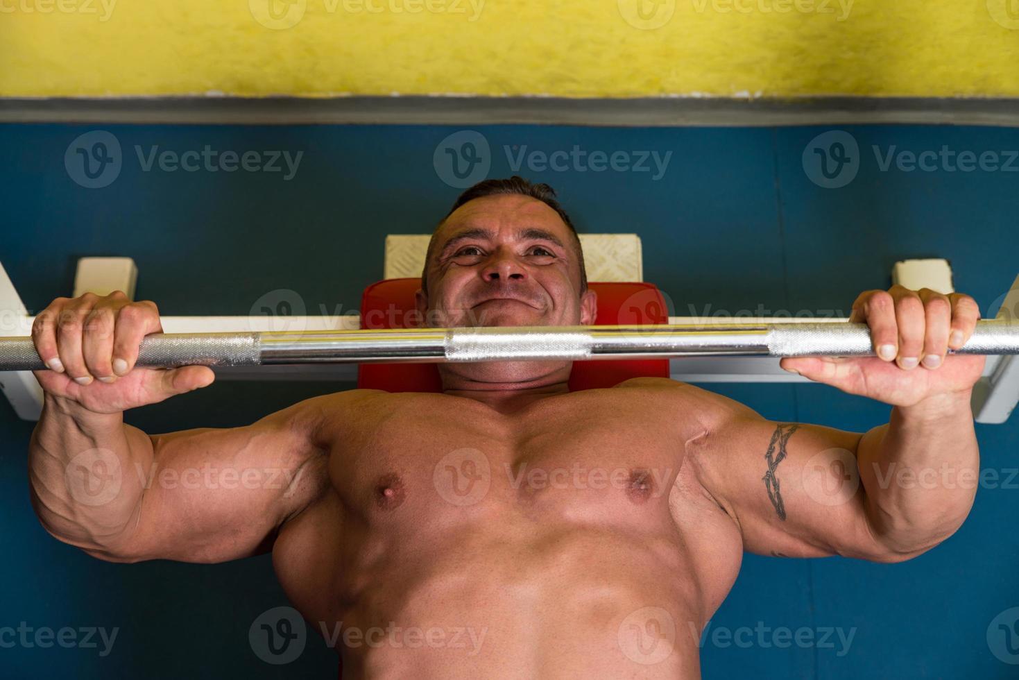 treinamento fisiculturista foto