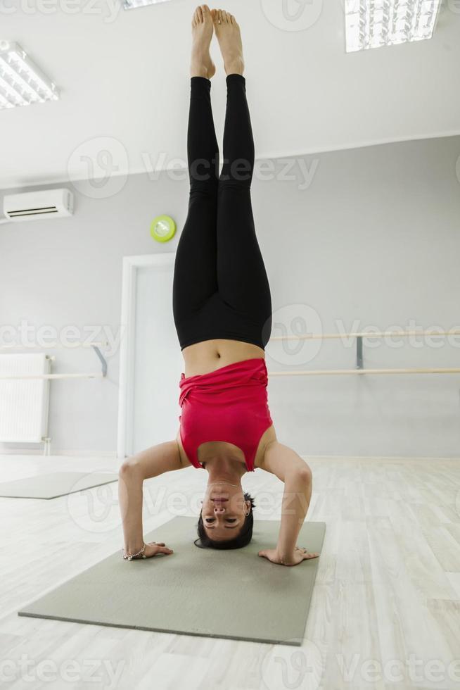 headstand foto