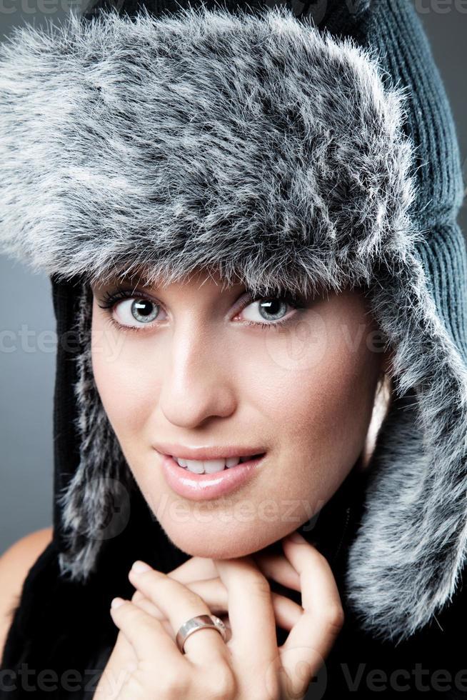 retrato de inverno foto