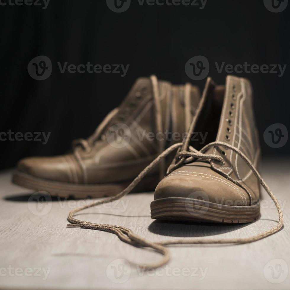 botas de inverno foto