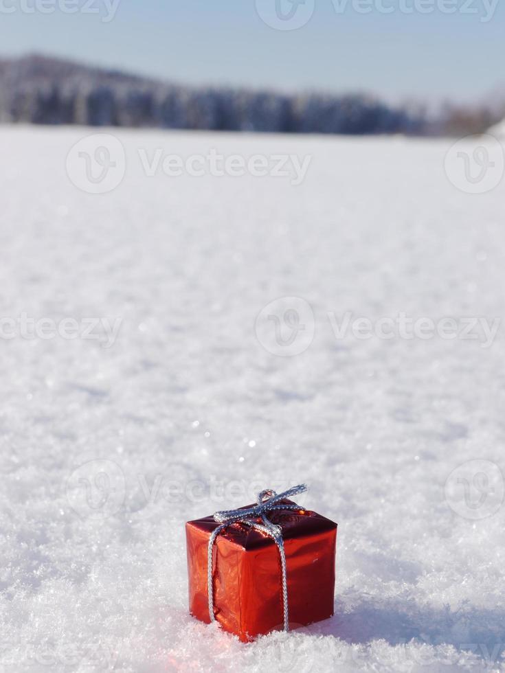 decoração de natal inverno foto