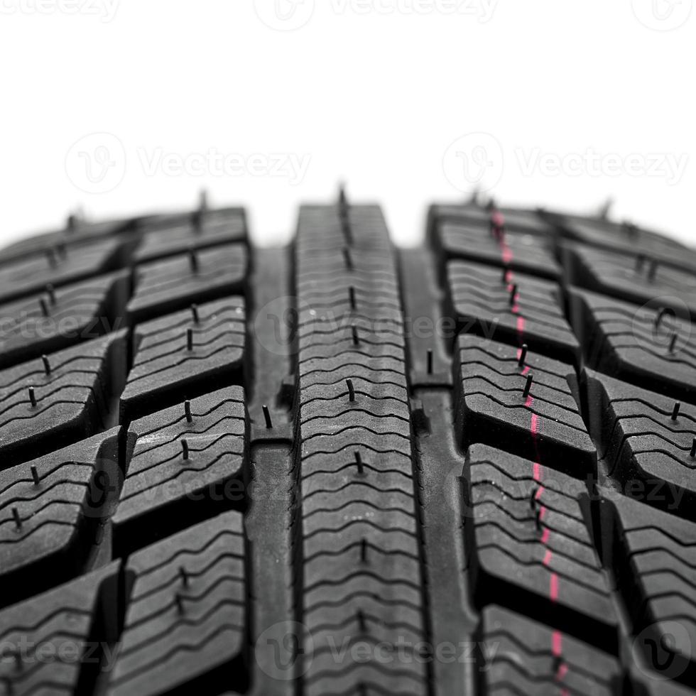 pneu de inverno e neve foto