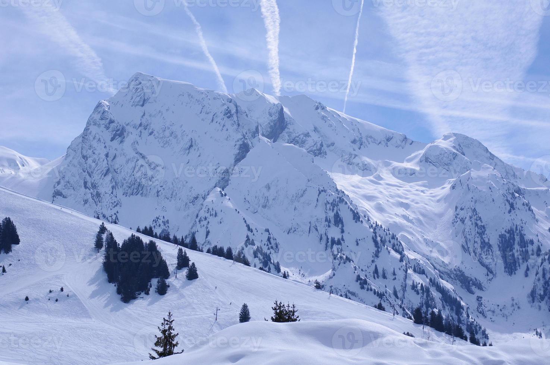 pista de esqui foto