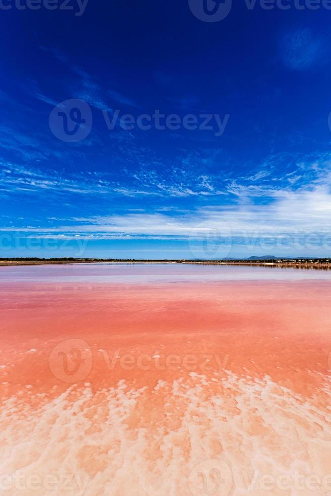 Lago salgado foto