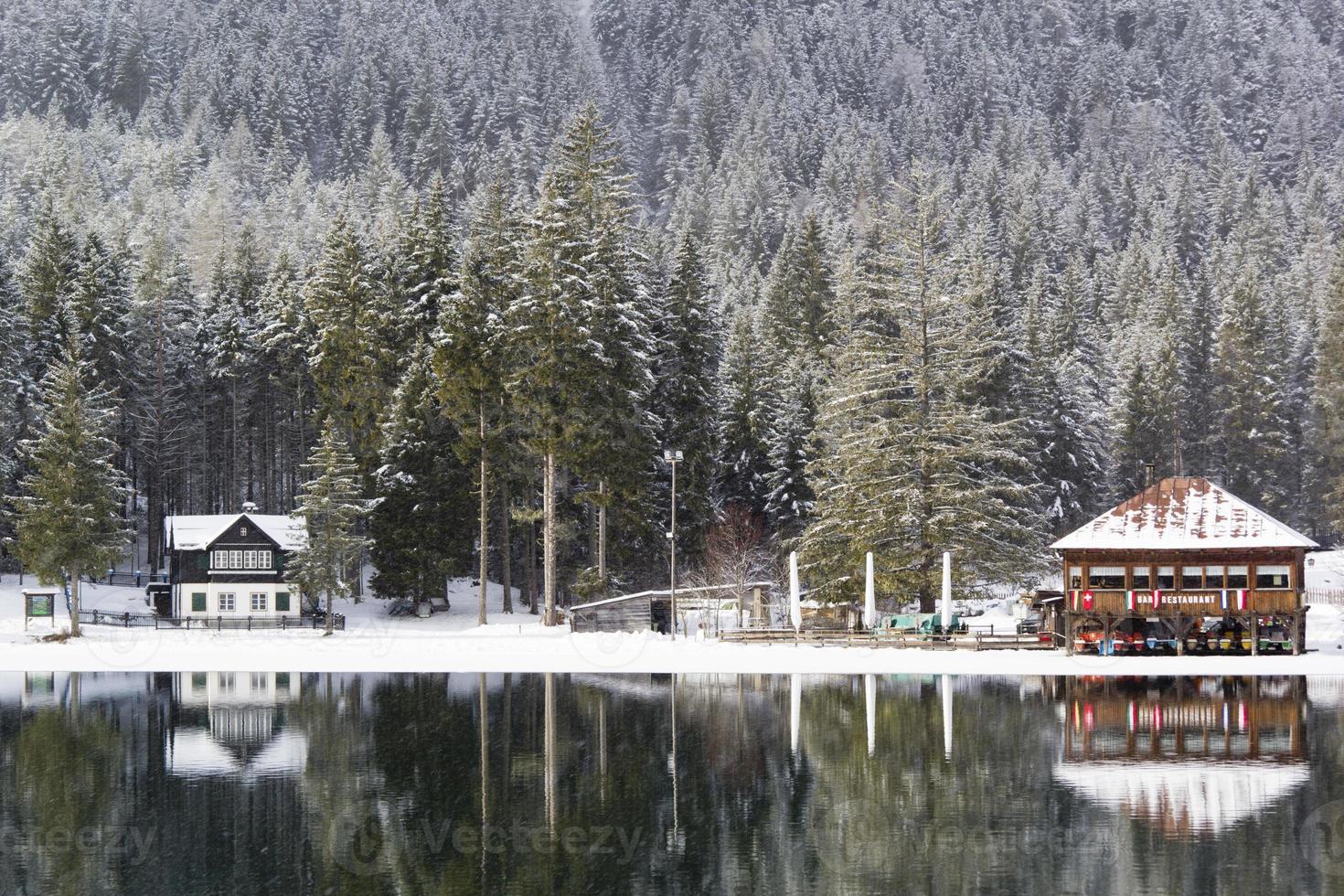 Lago congelado foto