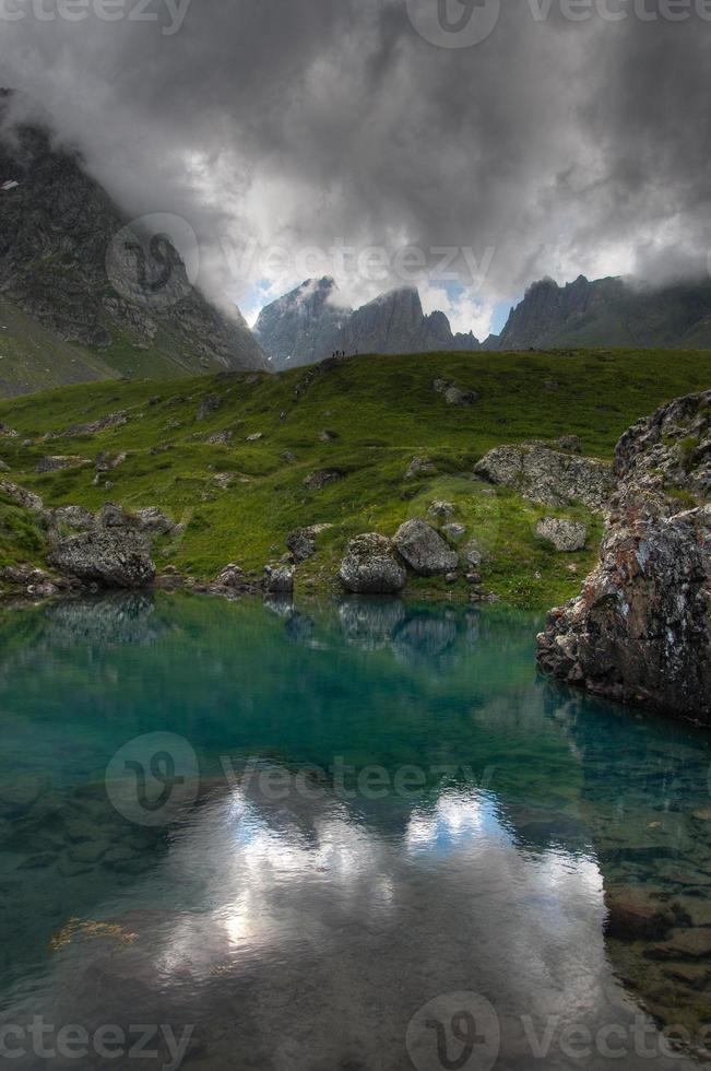 lagos da montanha foto