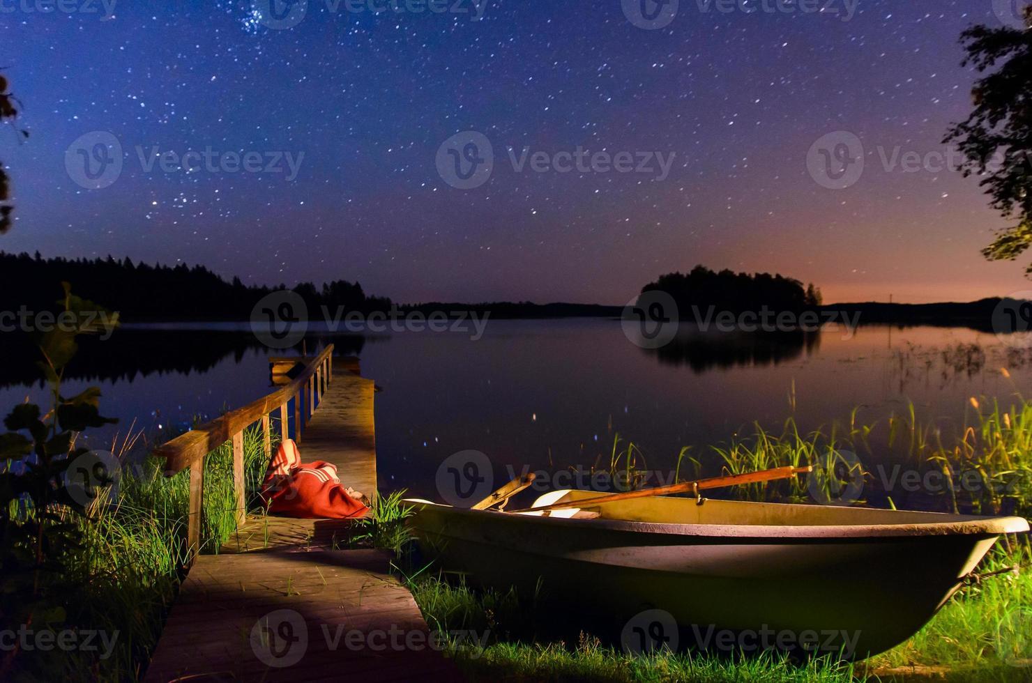 lago finlandês foto