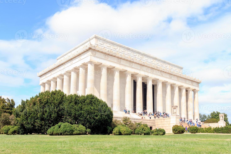 o lincoln memorial -washington, dc foto