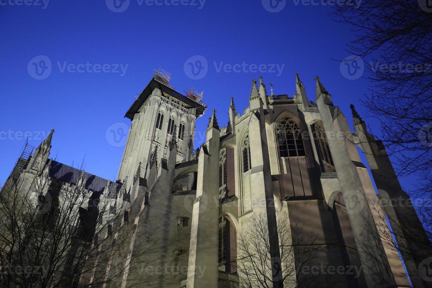 catedral nacional de washington foto