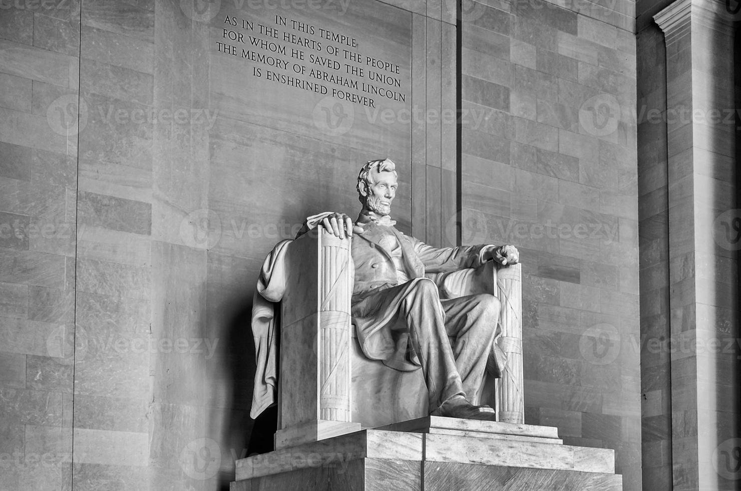 memorial de lincoln, washington dc foto