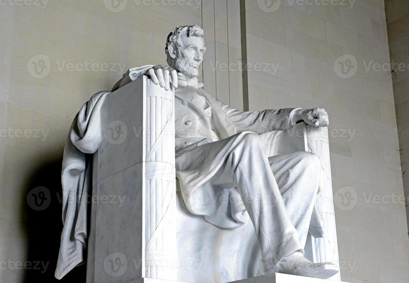 memorial de lincoln, washington dc, eua foto