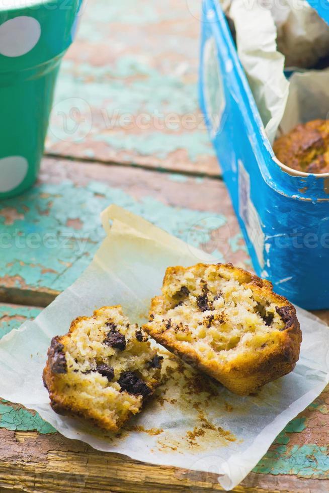 Muffins de banana foto