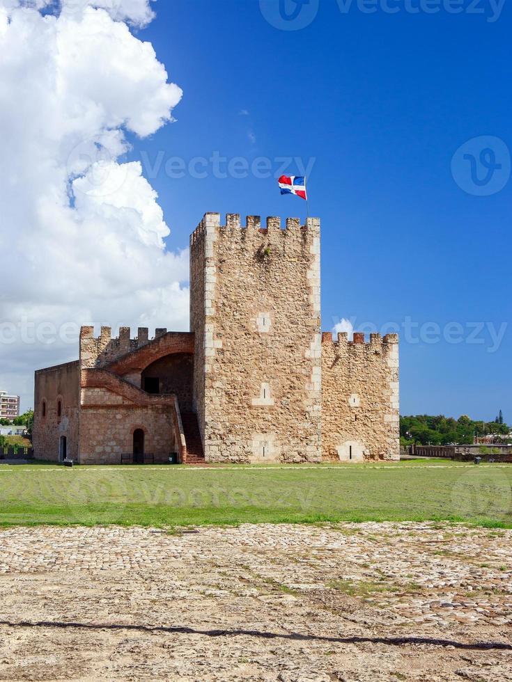 fortaleza ozama fortress, santo domingo foto