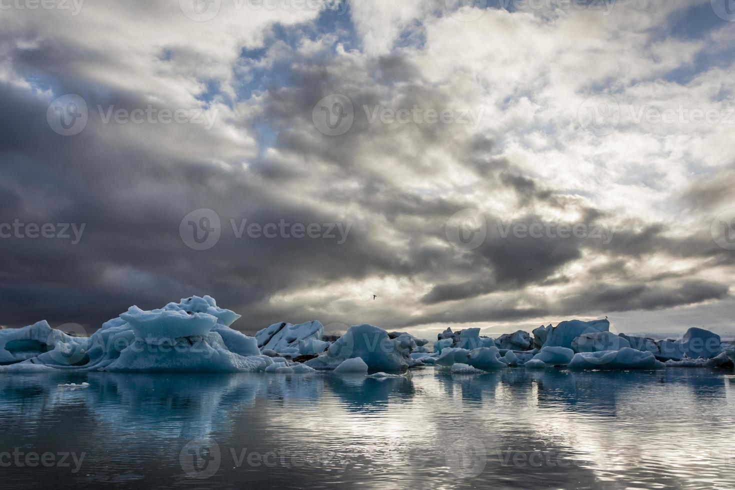 lago iceberg, jokulsarlon. foto