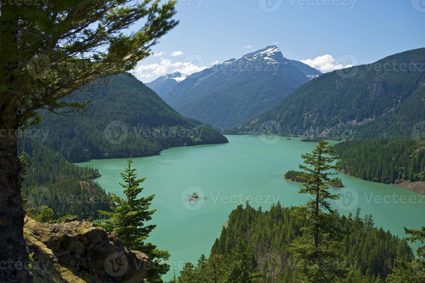 Diablo Lake Washington foto