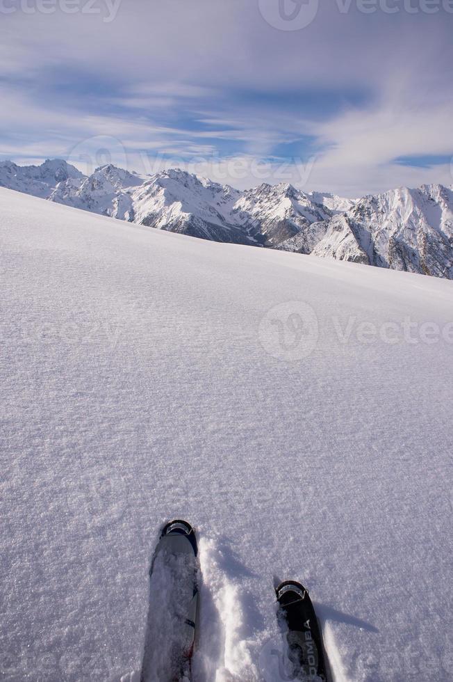 dicas de esqui foto