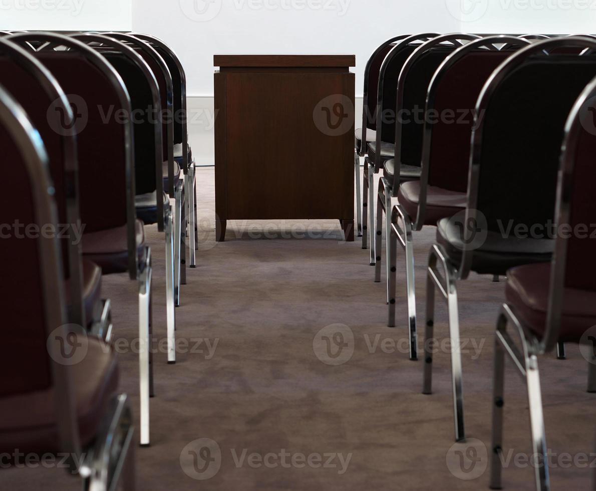 sala de reuniões no escritório foto