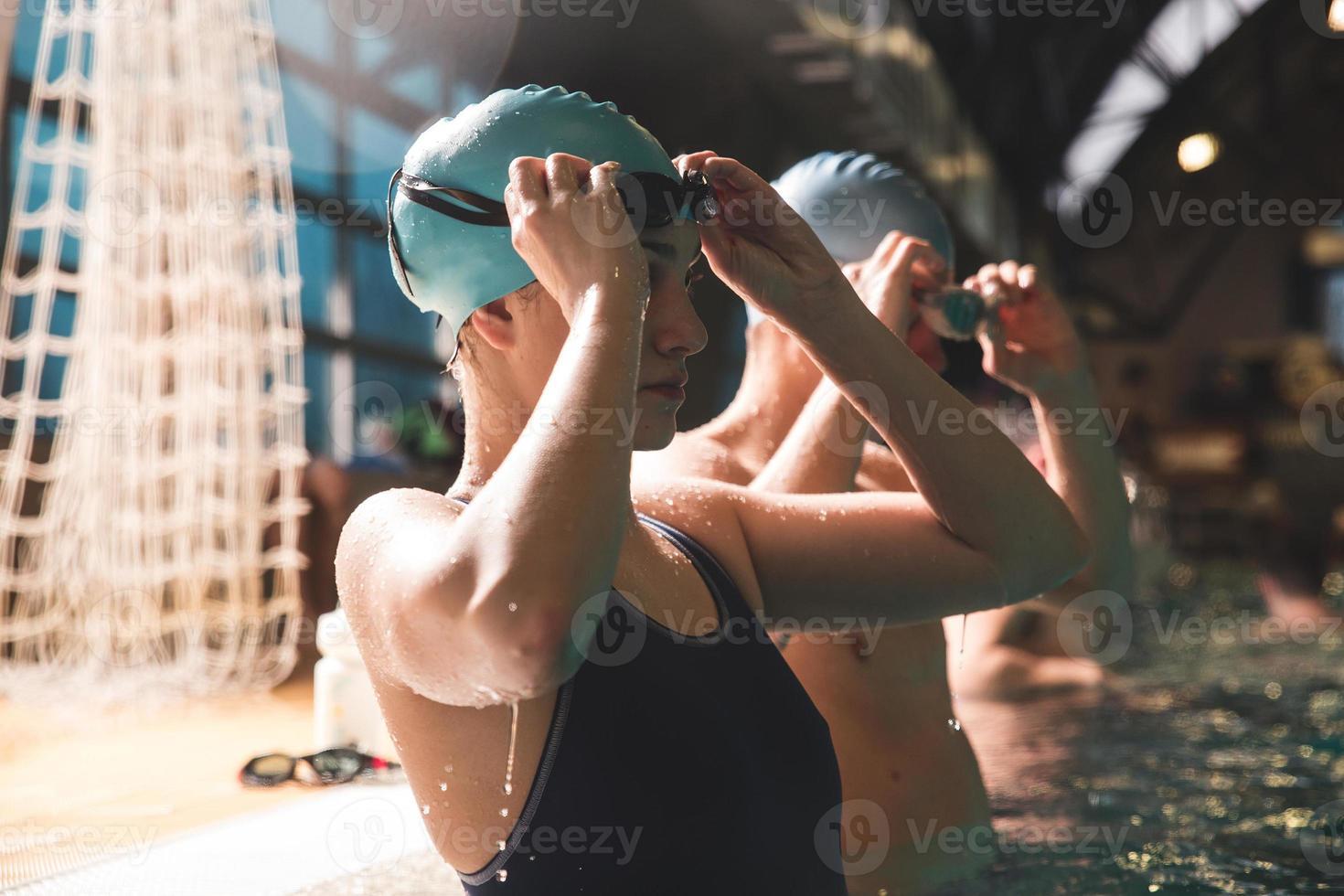 nadadores foto