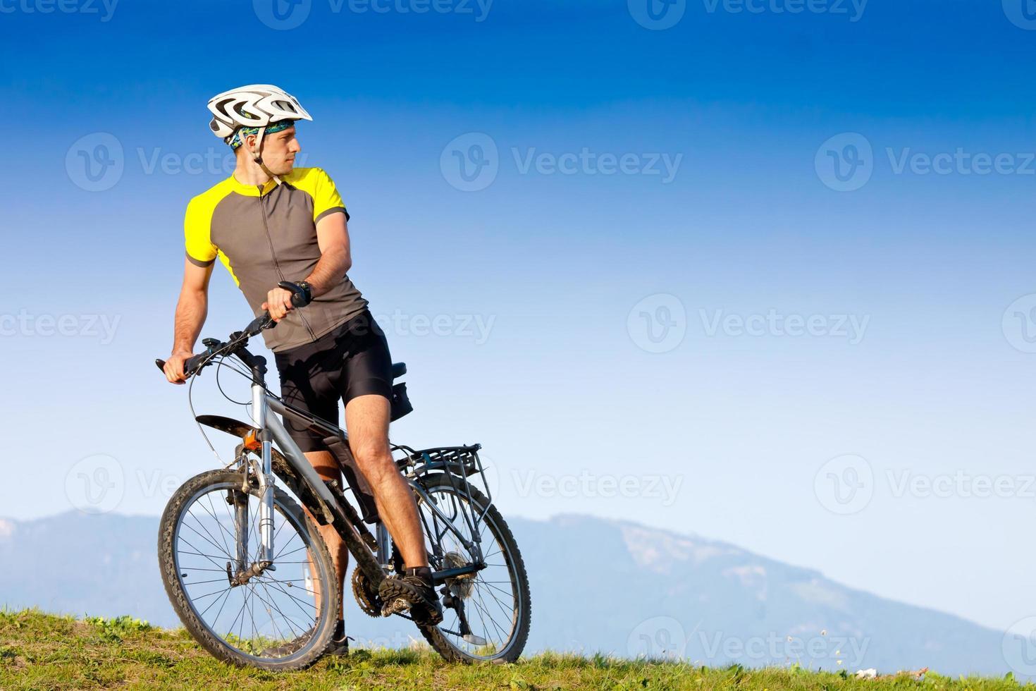 ciclismo de montanha foto