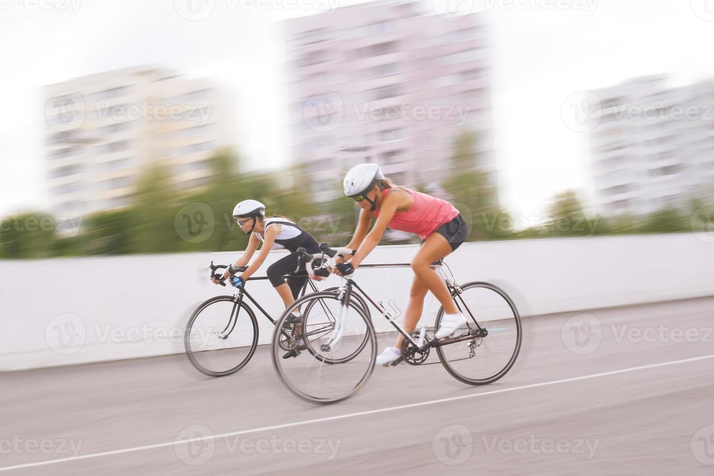 competição de bicicleta foto