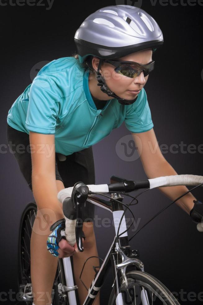 atleta de bicicleta ciclismo foto
