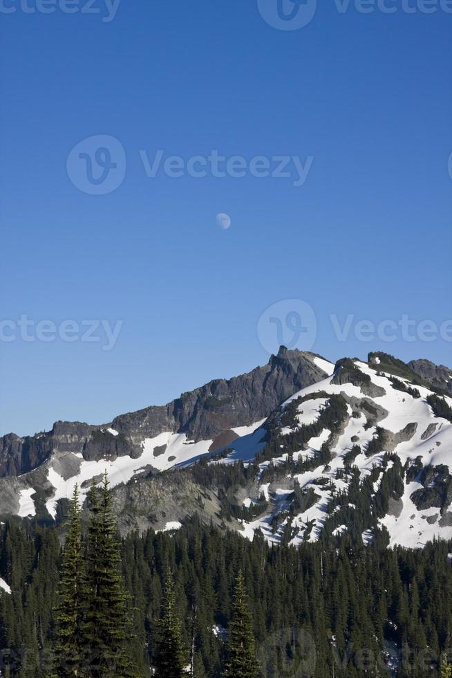 montanhas em cascata foto