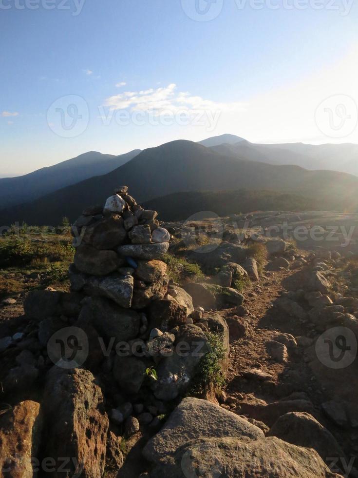 montanhas brancas foto
