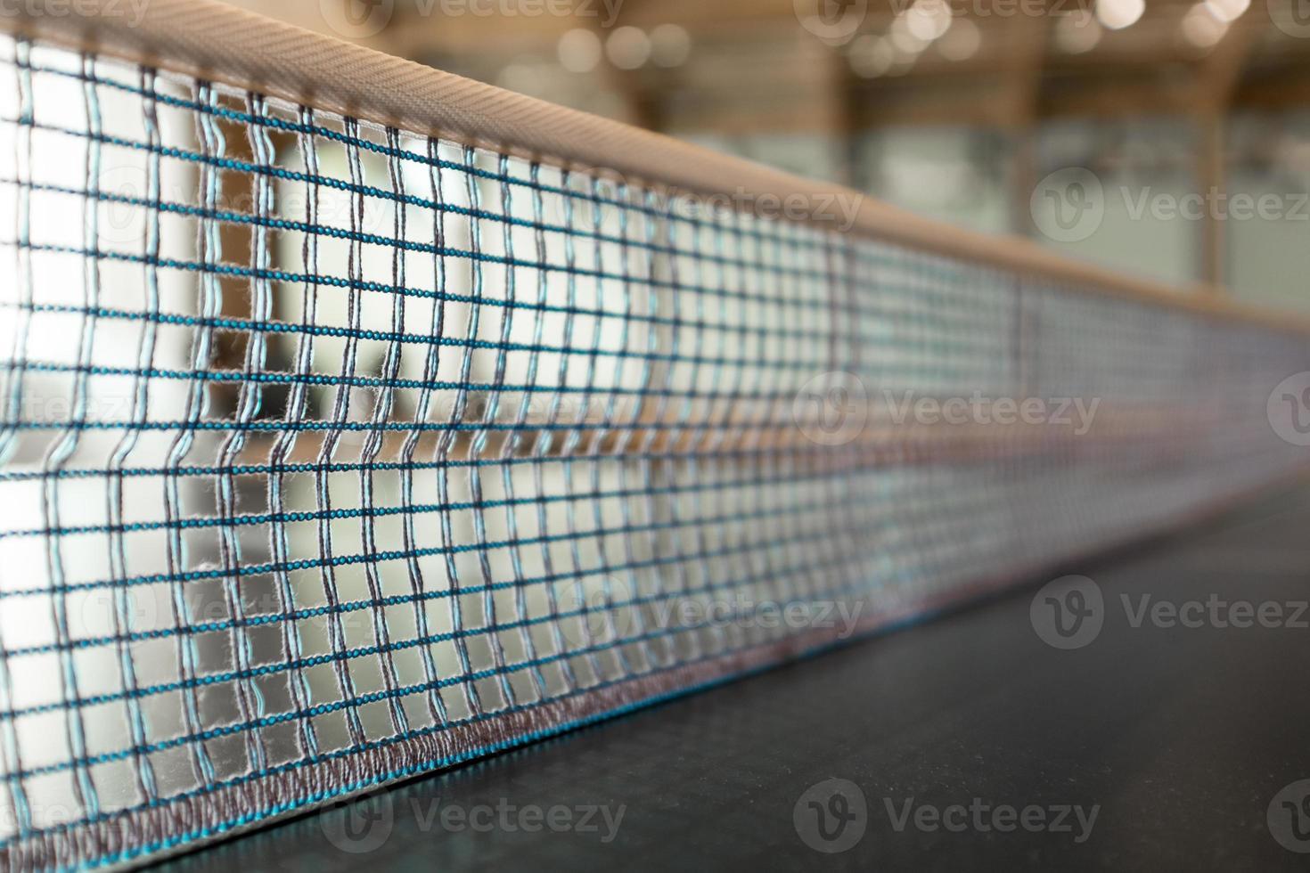 rede de tênis de mesa foto