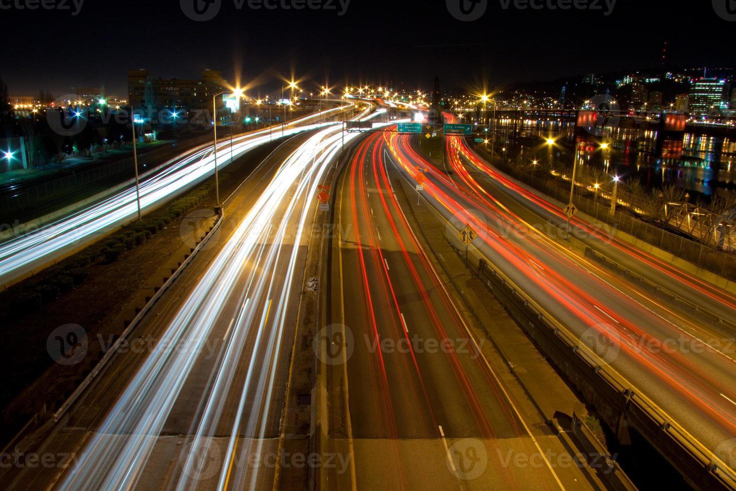 Portland, ou noite foto