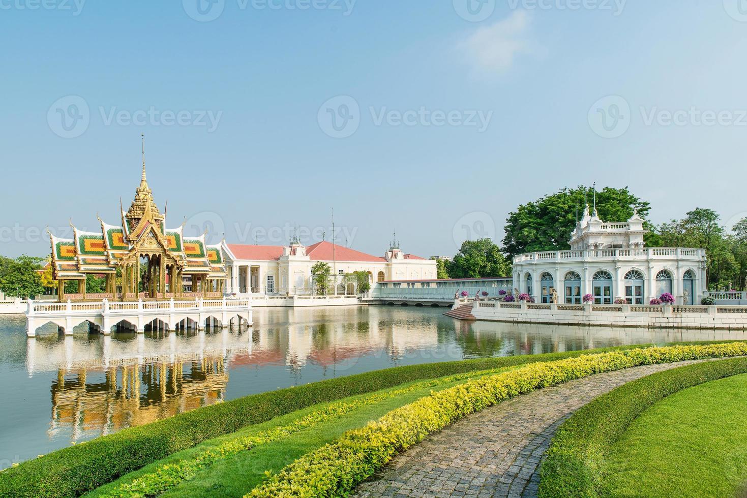 bang palácio real pa-in, ayutthaya, tailândia foto