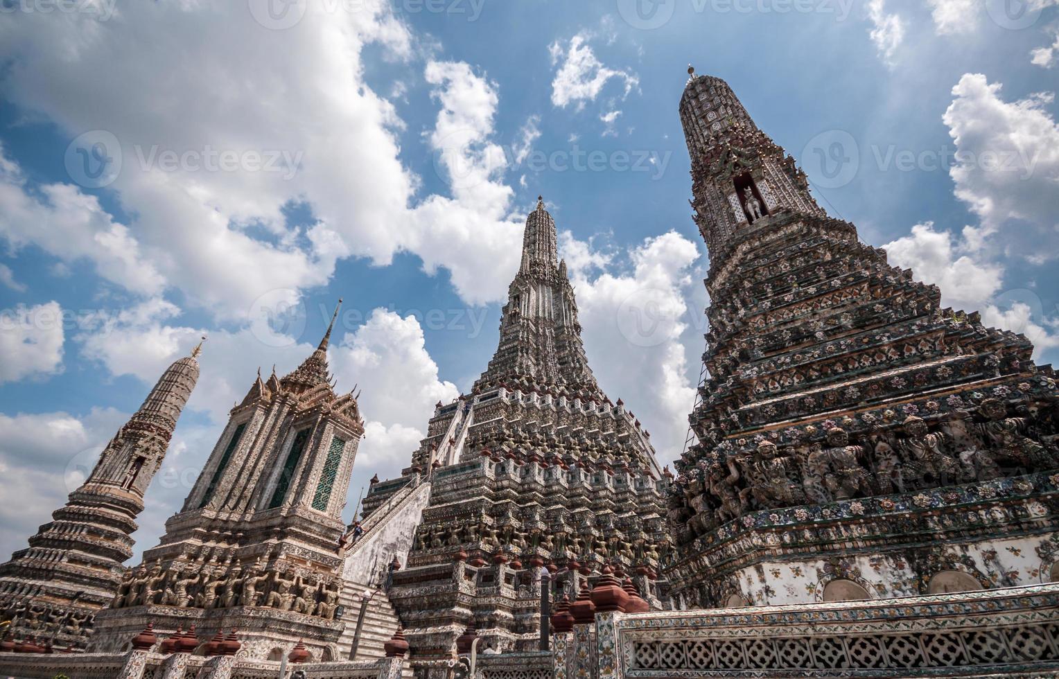 Wat Arun em Banguecoque, Tailândia. foto