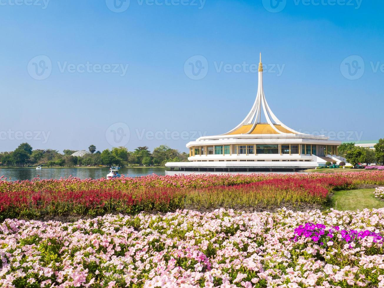 parque público suan luang rama 9, bangkok, tailândia foto