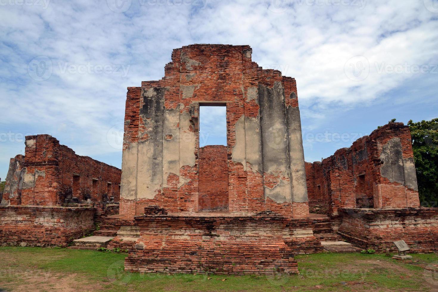 wat phra si sanphet ayutthaya tailândia foto