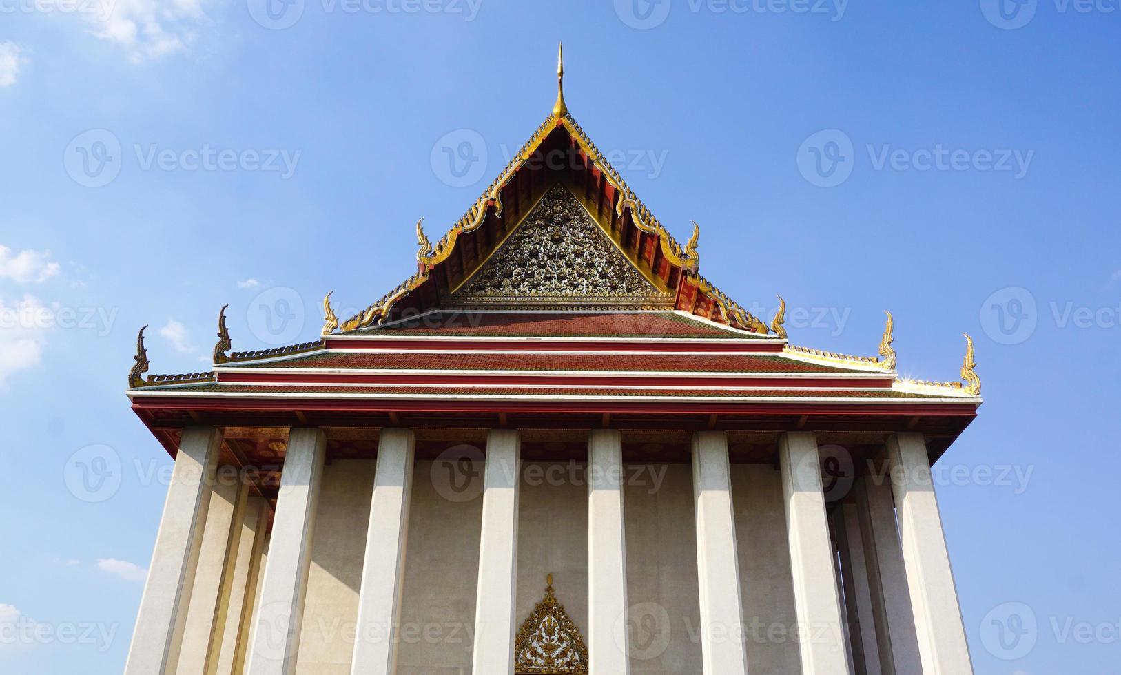 wat saket em bangkok, tailândia foto
