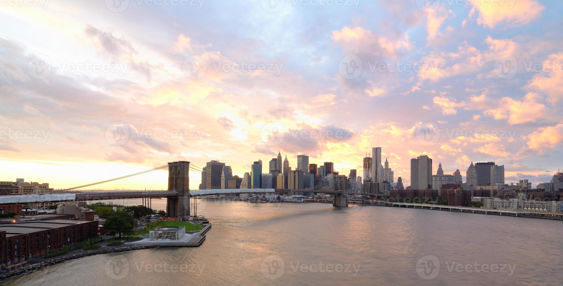 skyline de manhattan foto