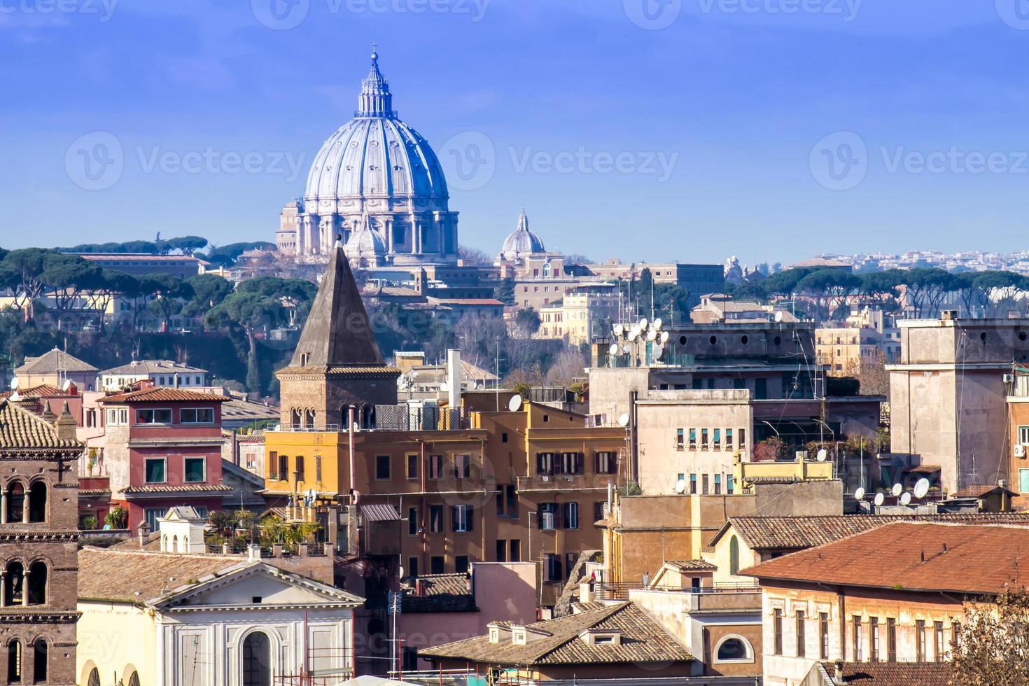 paisagem urbana de roma foto