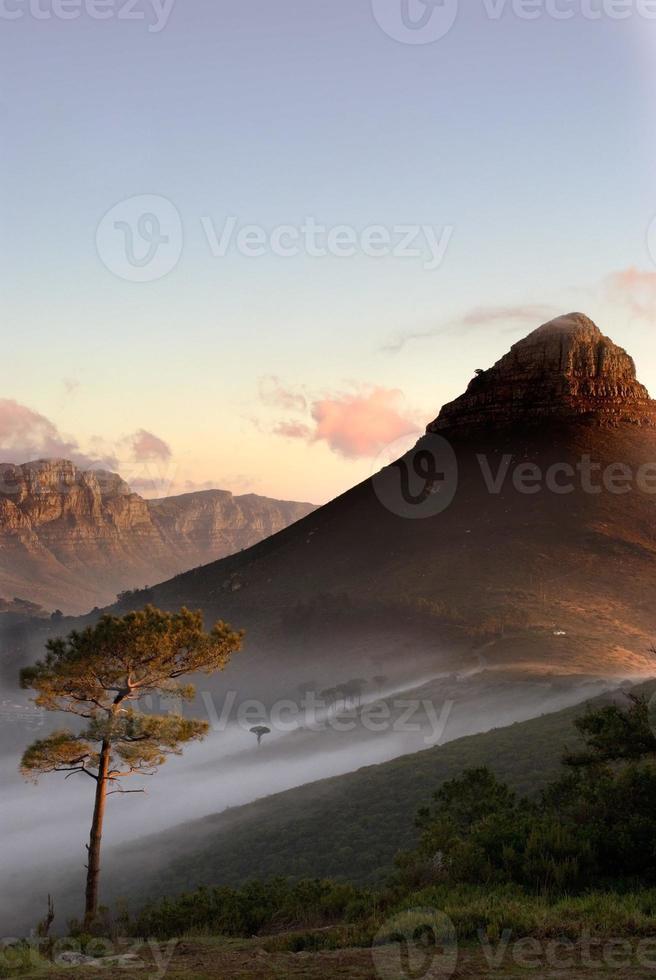 nevoeiros à tarde foto