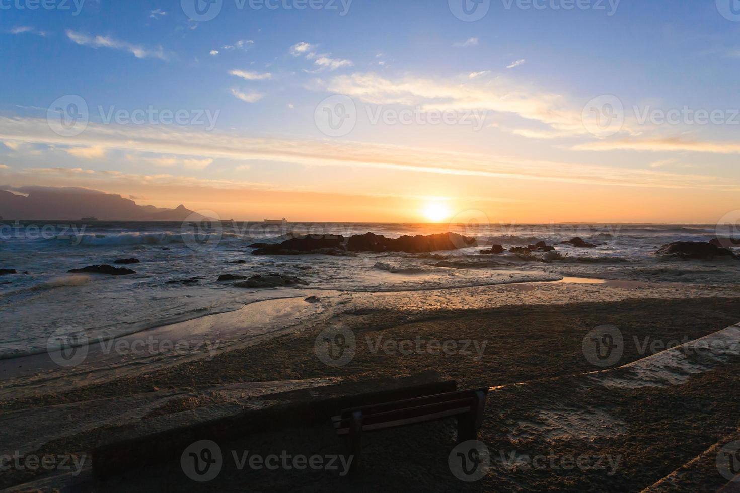 praia da cidade do cabo foto