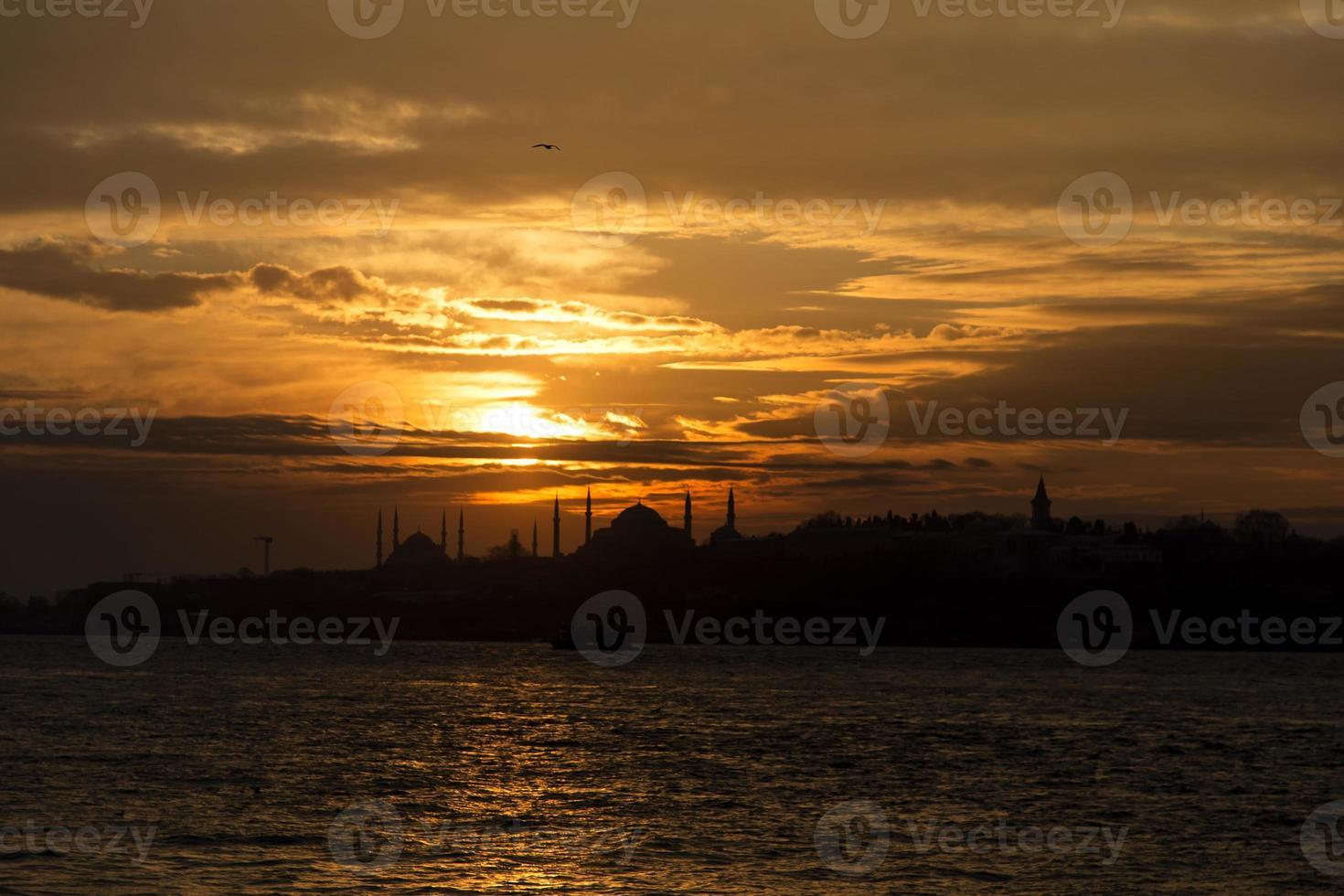 skyline de istambul foto
