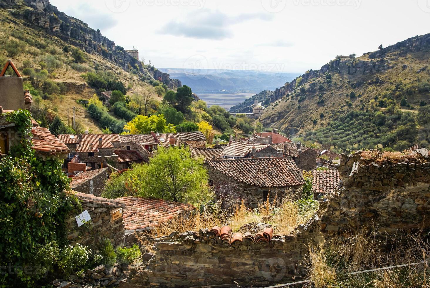 outono em patones de arriba, comunidad de madrid, espanha foto