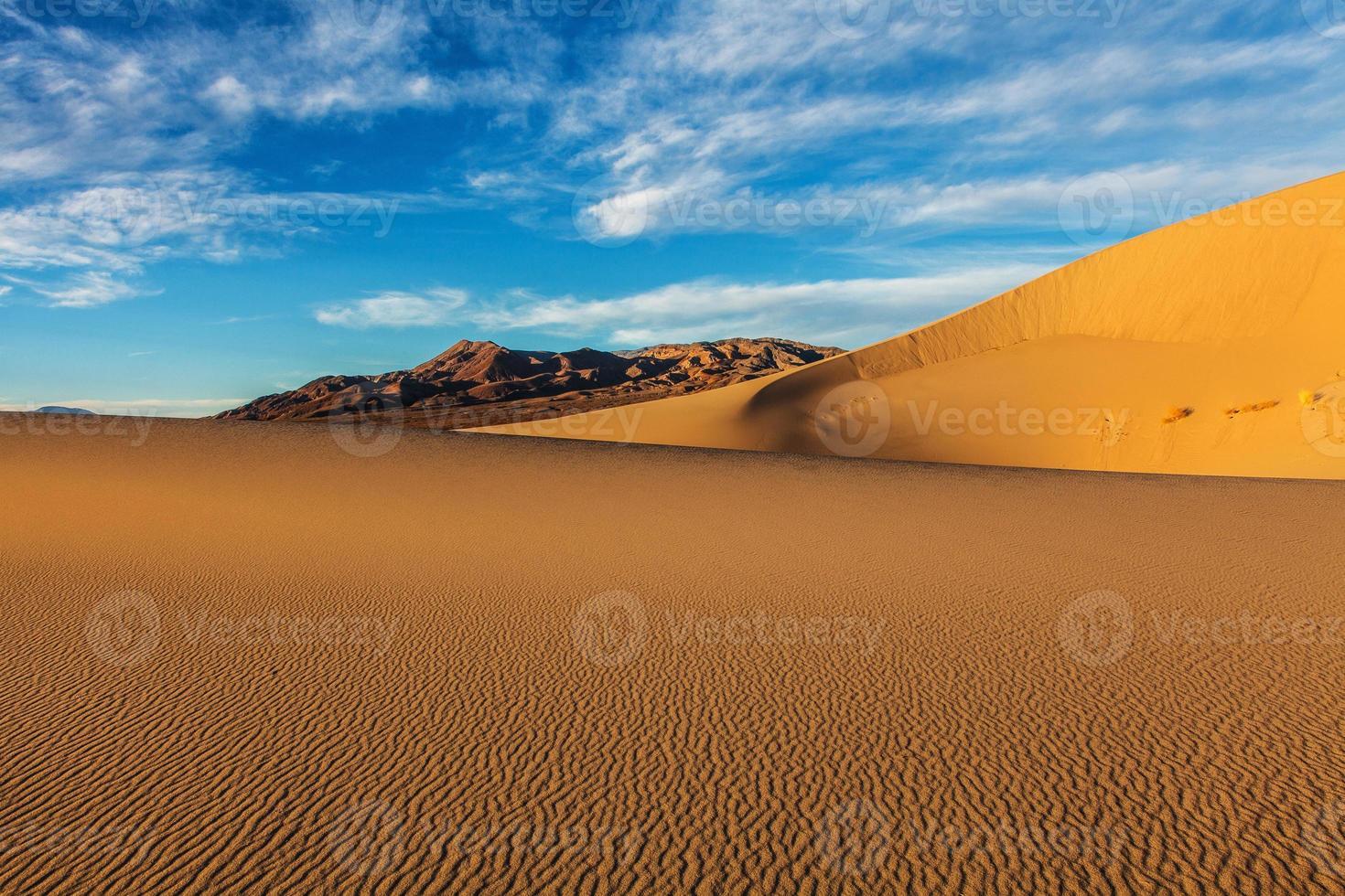 dunas de areia de eureka foto