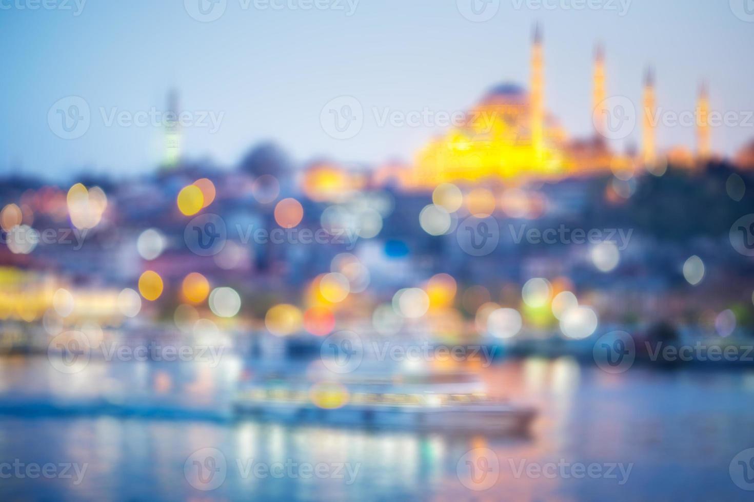 mesquita em istambul foto