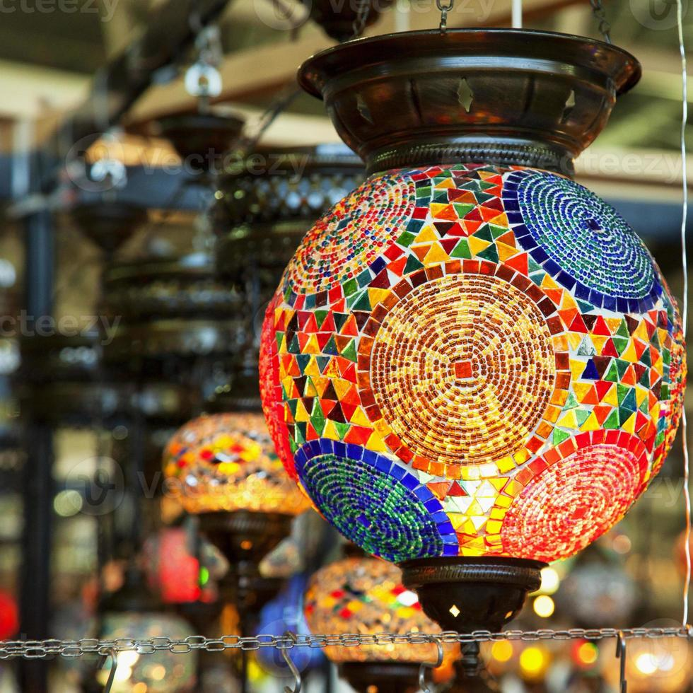 lâmpadas turcas foto