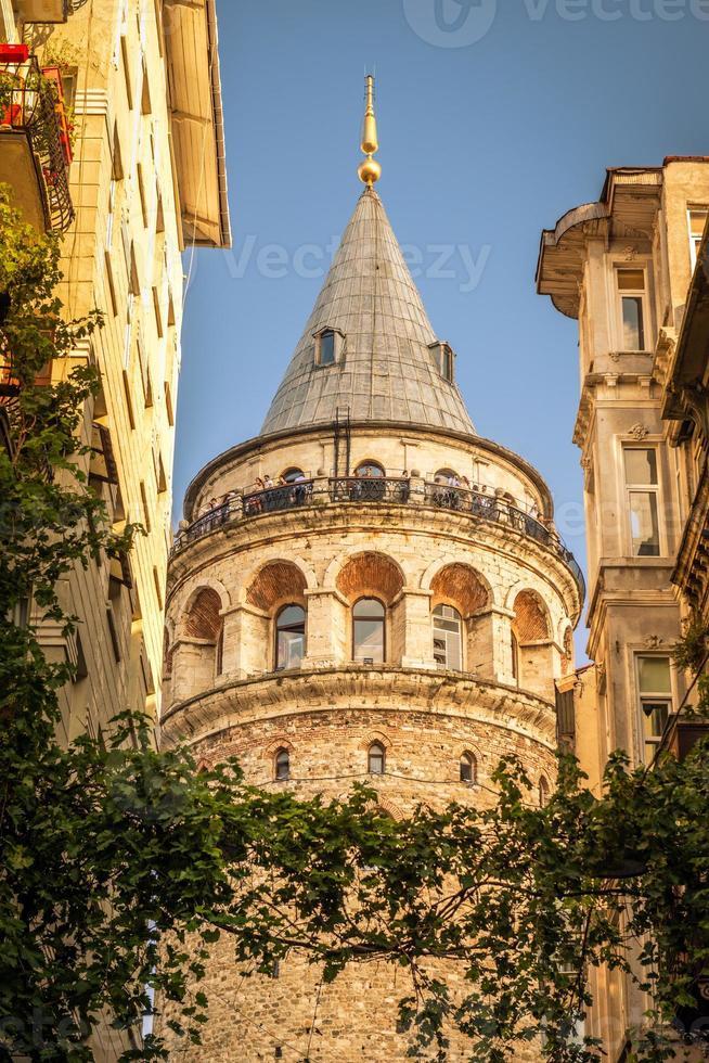 torre galata em Istambul foto