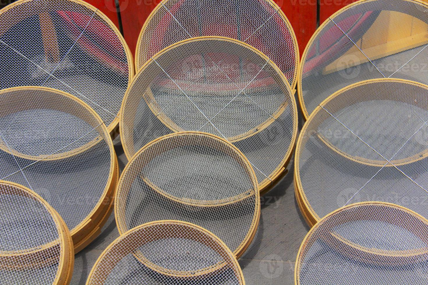 filtros de farinha foto