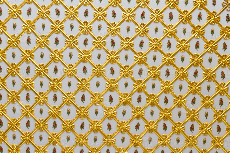 plafond do palácio topkapi foto
