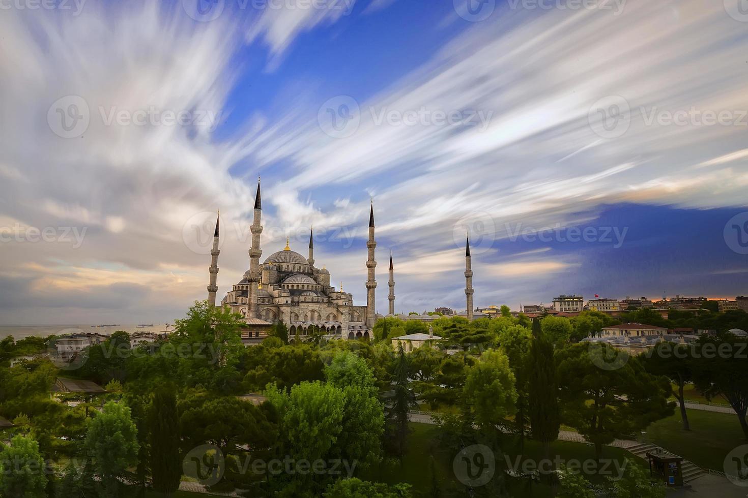 mesquita do sultão ahmet foto
