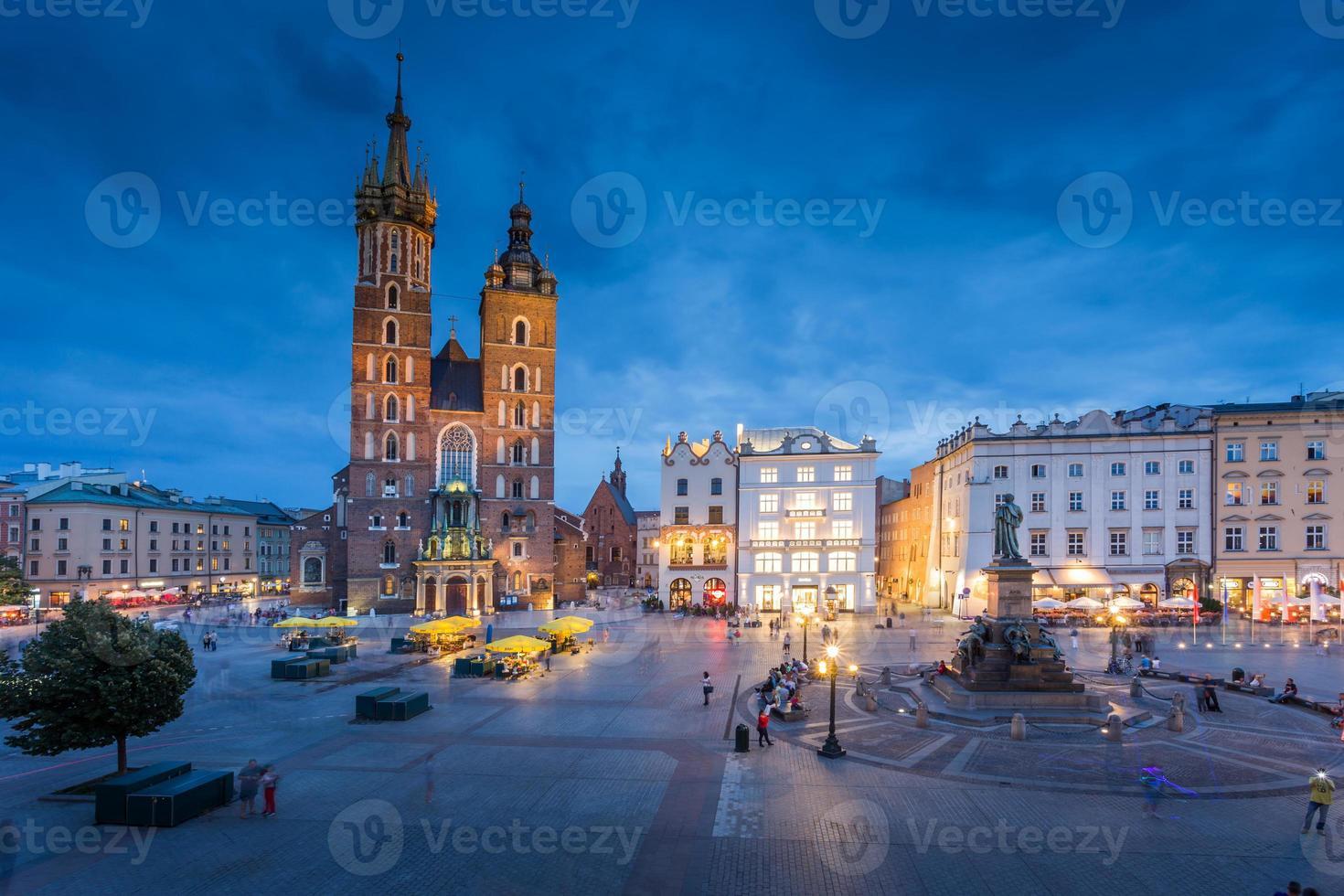 Cracóvia na Polônia foto